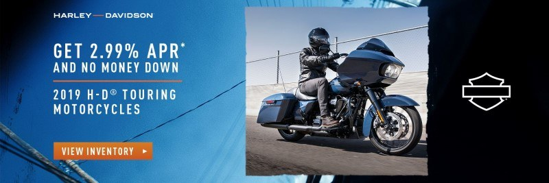 2.99% APR offer on 2019 Touring Models